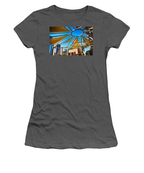 City Shapes Women's T-Shirt (Athletic Fit)