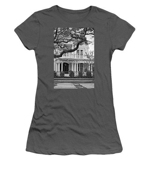 Class Act Monochrome Women's T-Shirt (Athletic Fit)