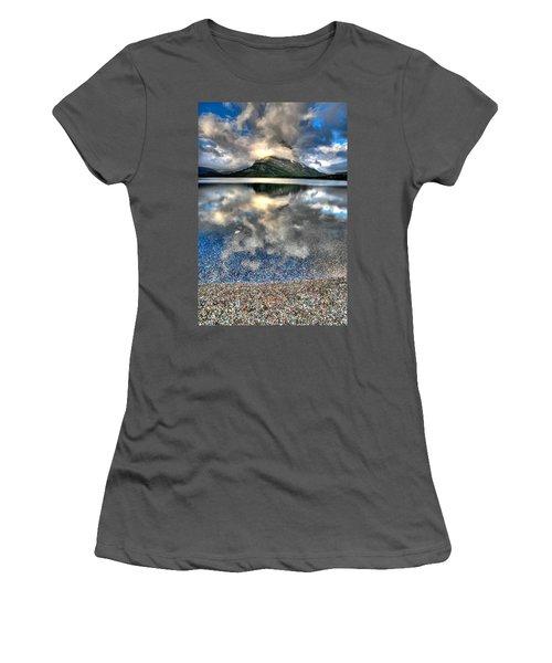 Women's T-Shirt (Junior Cut) featuring the photograph Cloud Catcher by David Andersen