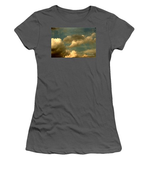 Clouds Of Yesterday Women's T-Shirt (Athletic Fit)