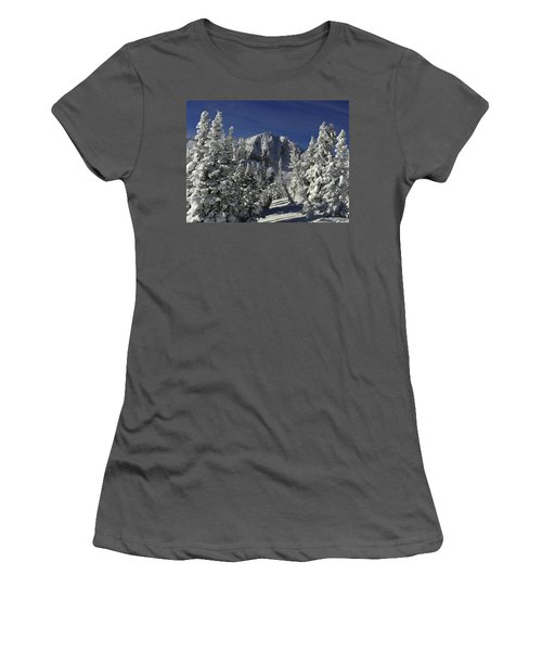 Cody Peak After A Snow Women's T-Shirt (Athletic Fit)