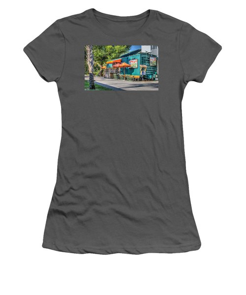 Coffee Shop Women's T-Shirt (Athletic Fit)