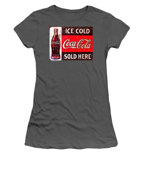 Coke Women's T-Shirt (Athletic Fit)