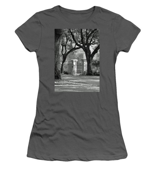 College Of Charleston Gate Women's T-Shirt (Athletic Fit)