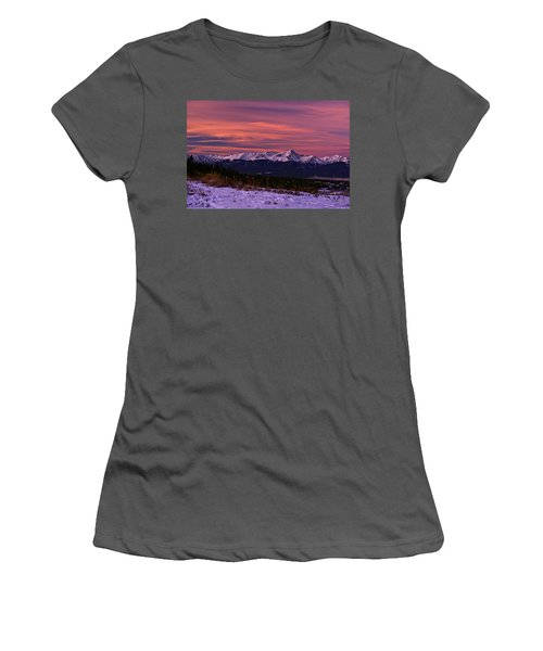 Color Of Dawn Women's T-Shirt (Athletic Fit)