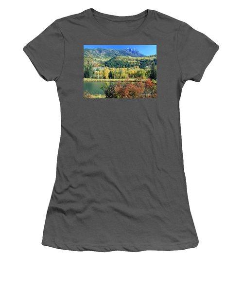 Colorado Colors Women's T-Shirt (Athletic Fit)