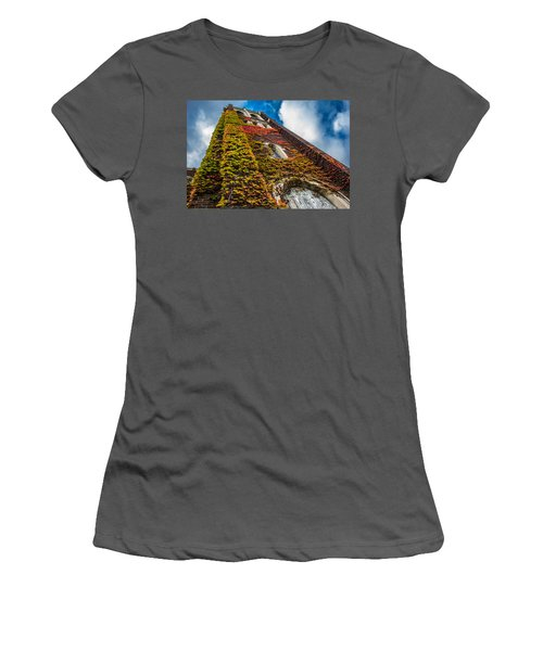 Colorful Bell Tower Women's T-Shirt (Athletic Fit)