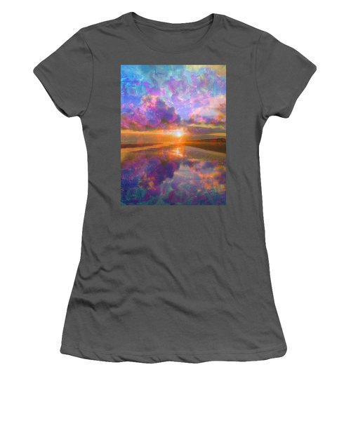 Colorful Sunset By Jan Marvin Women's T-Shirt (Athletic Fit)