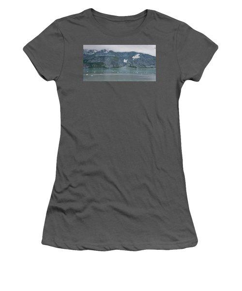 Colors Of Alaska - Glacier Bay Women's T-Shirt (Junior Cut)