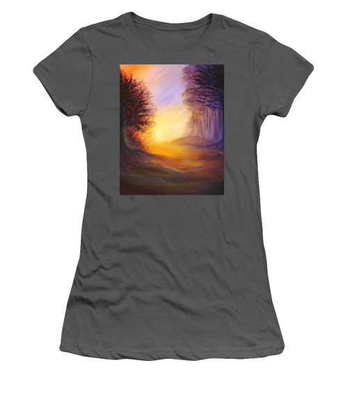 Colors Of The Morning Light Women's T-Shirt (Junior Cut) by Lilia D