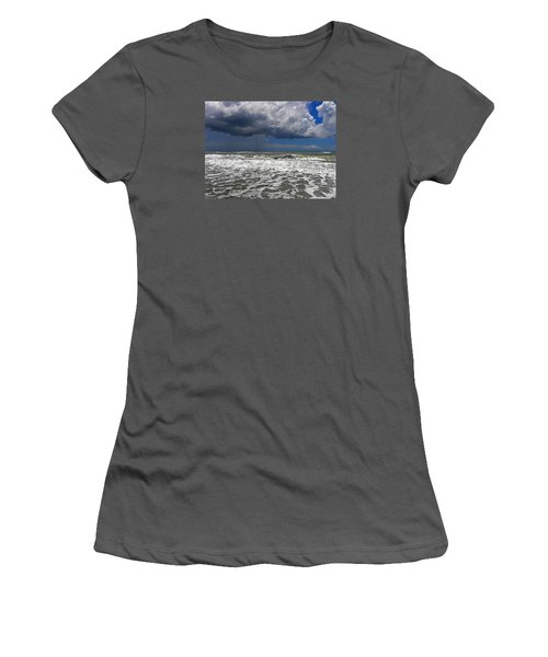 Conquering The Storm Women's T-Shirt (Junior Cut) by Sandi OReilly