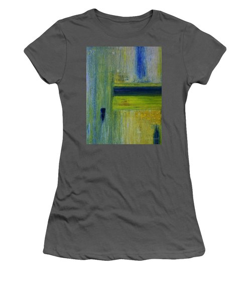 Contact Women's T-Shirt (Junior Cut) by Dick Bourgault
