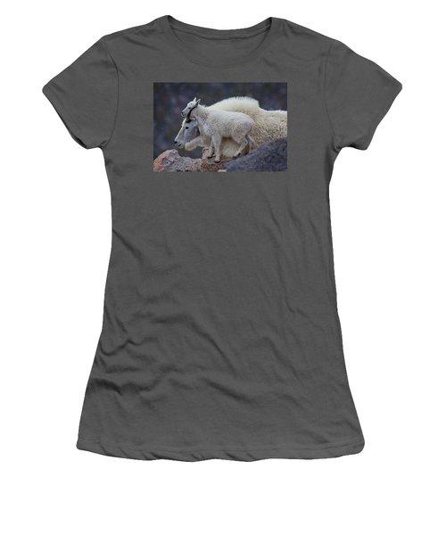 Contentment  Women's T-Shirt (Junior Cut) by Jim Garrison