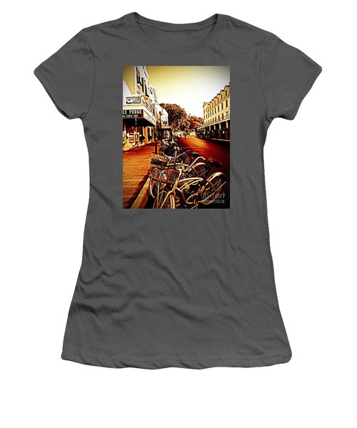Copper And Rust Women's T-Shirt (Athletic Fit)