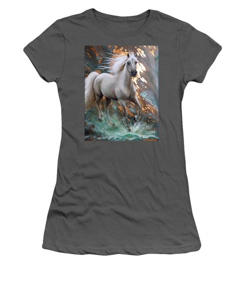 Copper Sundancer - Horse Women's T-Shirt (Athletic Fit)
