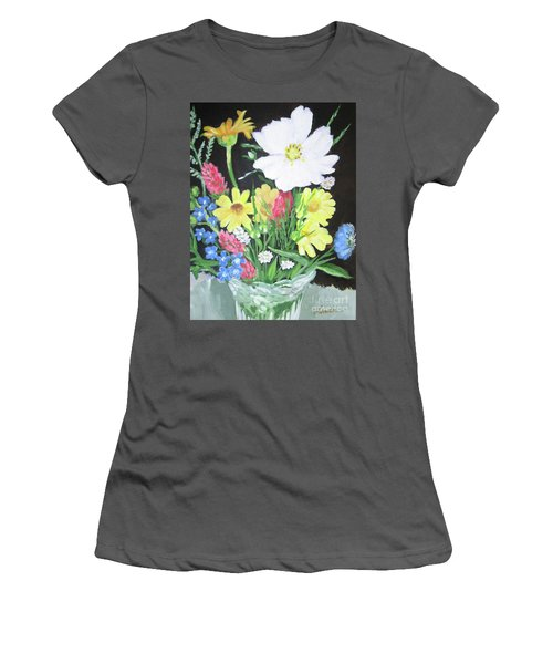 Cosmos And Her Wild Friends Women's T-Shirt (Athletic Fit)