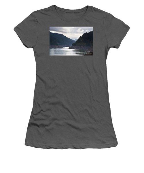 Cougar Reservoir Women's T-Shirt (Junior Cut) by Belinda Greb