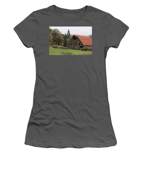 Country Barn Women's T-Shirt (Athletic Fit)