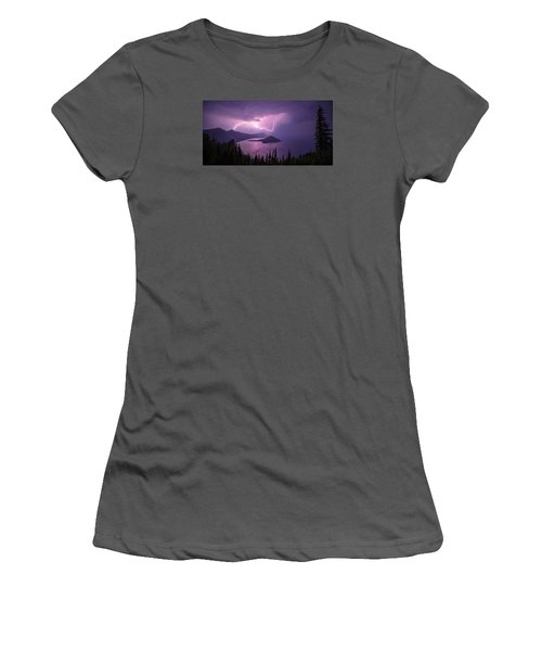 Crater Storm Women's T-Shirt (Junior Cut)