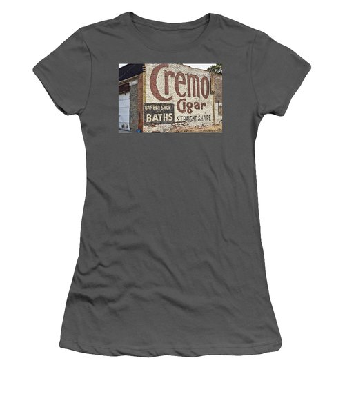 Cremo Cigar Women's T-Shirt (Athletic Fit)