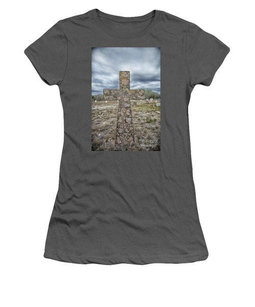 Cross With No Name Women's T-Shirt (Athletic Fit)