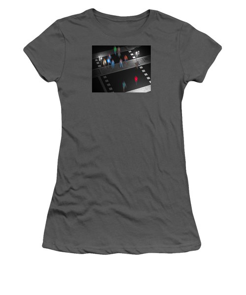 Crosswalk Women's T-Shirt (Junior Cut) by Pedro L Gili