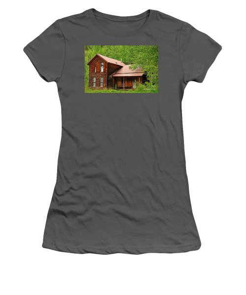 Crystal Cabin Women's T-Shirt (Athletic Fit)