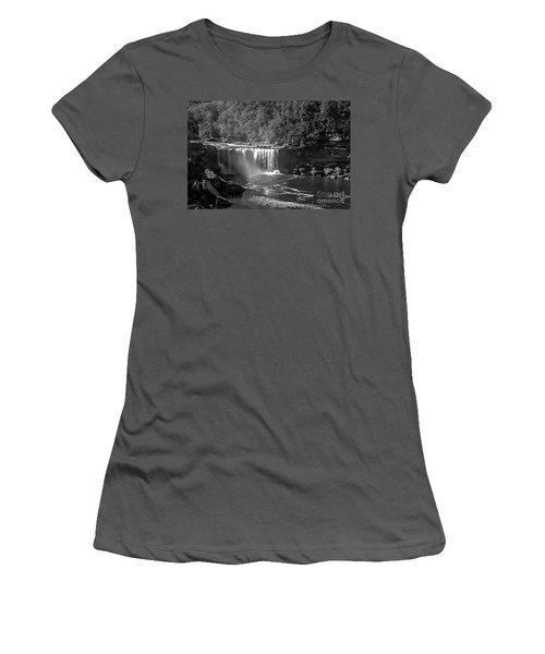 Cumberland Falls Five Bw Women's T-Shirt (Athletic Fit)