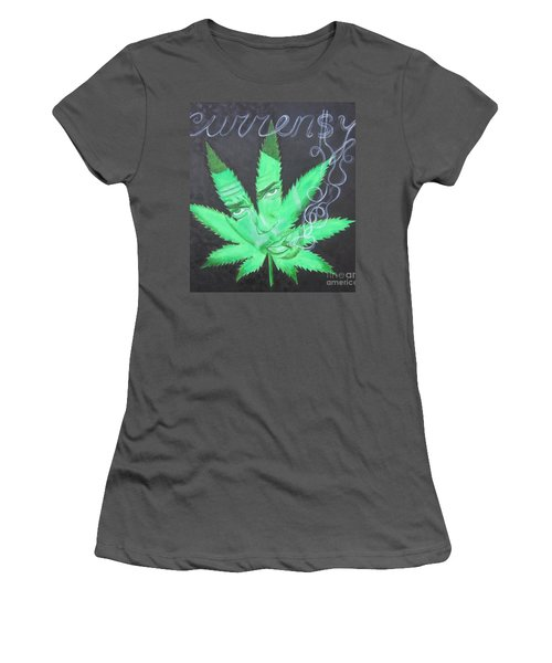 Currensy Women's T-Shirt (Junior Cut) by Jeepee Aero