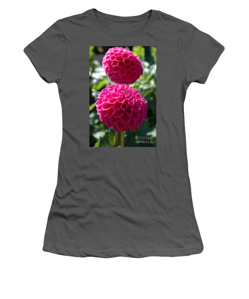 Dahlia Xi Women's T-Shirt (Junior Cut) by Christiane Hellner-OBrien