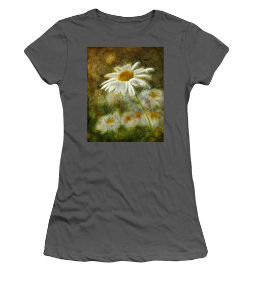 Daisies ... Again - P11at01 Women's T-Shirt (Athletic Fit)