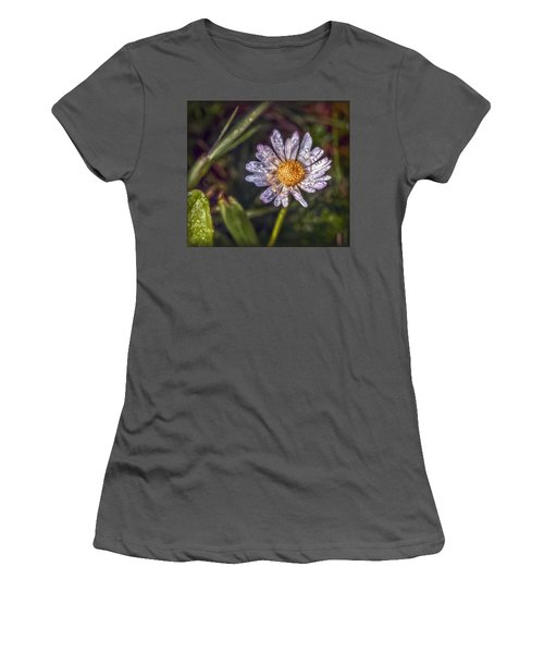 Women's T-Shirt (Junior Cut) featuring the photograph Daisy by Hanny Heim