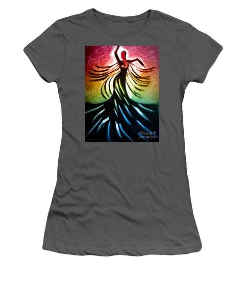 Dancer 3 Women's T-Shirt (Athletic Fit)