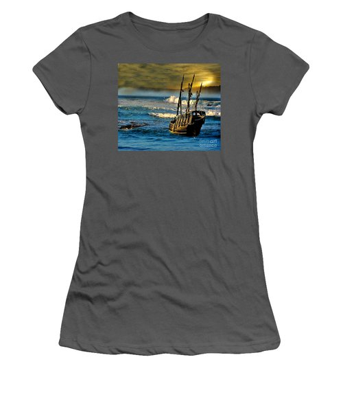 Dangerous Waters Women's T-Shirt (Athletic Fit)