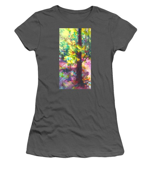 Dappled - Light Through Tree Canopy Women's T-Shirt (Athletic Fit)