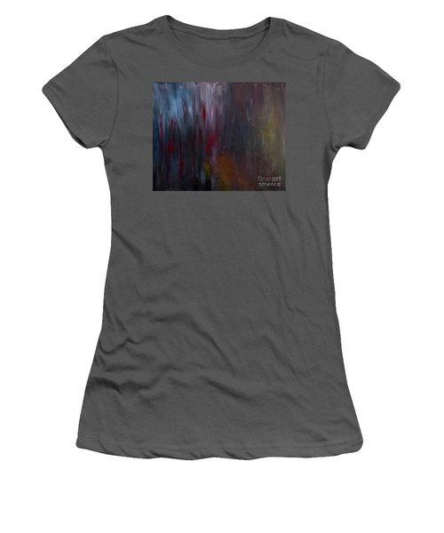 Dark Rain Women's T-Shirt (Athletic Fit)