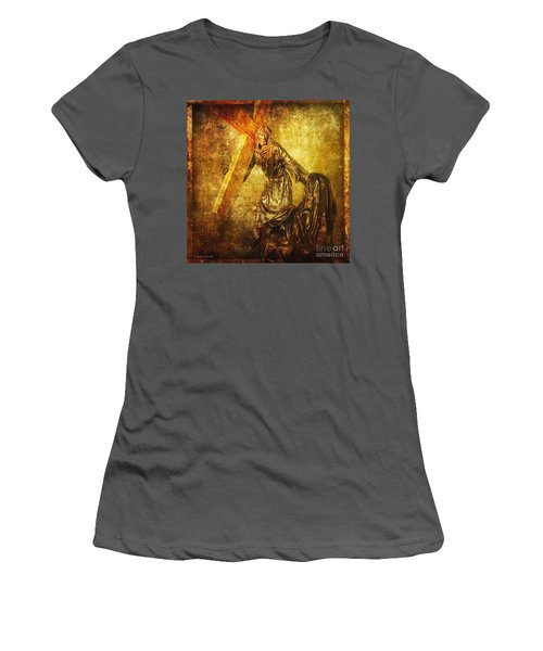 Daughters Of Jerusalem Via Dolorosa 8 Women's T-Shirt (Athletic Fit)