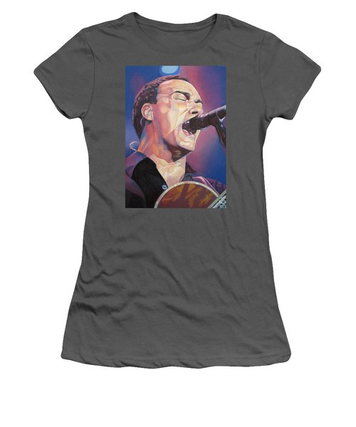 Dave Matthews Colorful Full Band Series Women's T-Shirt (Athletic Fit)