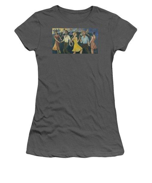 Dawn Dance Women's T-Shirt (Athletic Fit)