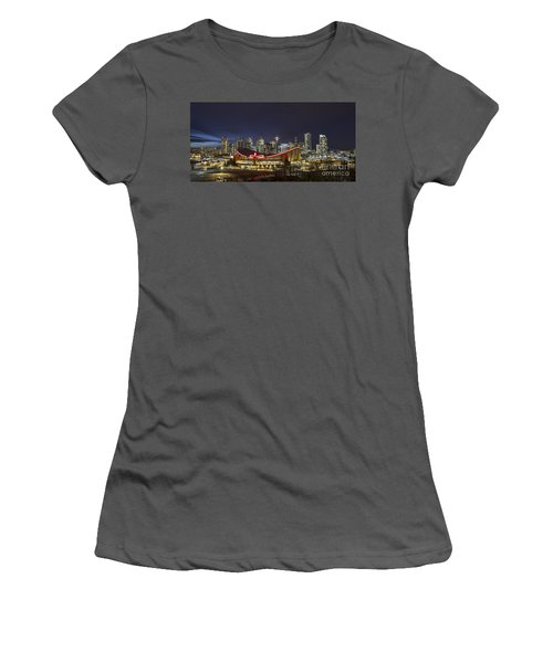 Dazzled By The Light Women's T-Shirt (Athletic Fit)