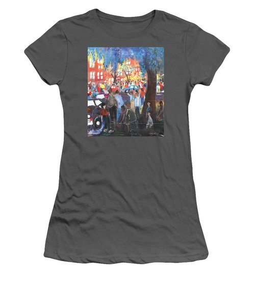 D.c. Market Women's T-Shirt (Junior Cut) by Leela Payne