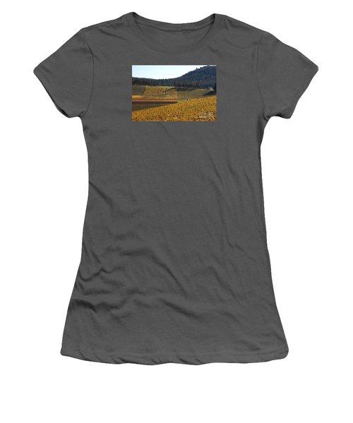 golden vines-Victoria-Australia Women's T-Shirt (Junior Cut) by Joy Watson