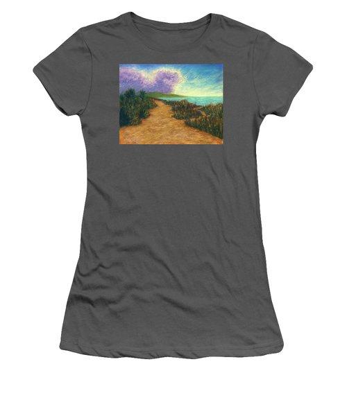 Del Mar Trails 02 Women's T-Shirt (Athletic Fit)