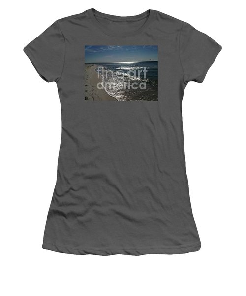 Women's T-Shirt (Junior Cut) featuring the photograph Diamond Mine by Laurie L
