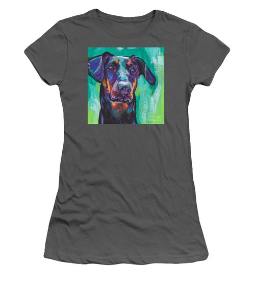 Dobie Love Women's T-Shirt (Athletic Fit)