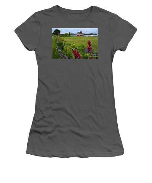 Douglas Lighthouse Water Tower Women's T-Shirt (Athletic Fit)