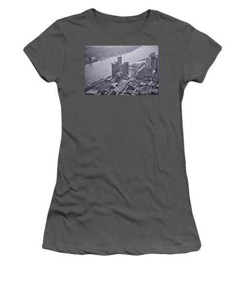 Downtown Detroit Women's T-Shirt (Athletic Fit)