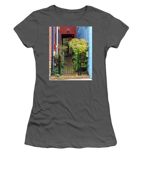 Downtown Garden Path Women's T-Shirt (Athletic Fit)