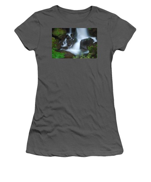 Dragon Head Falls Women's T-Shirt (Athletic Fit)
