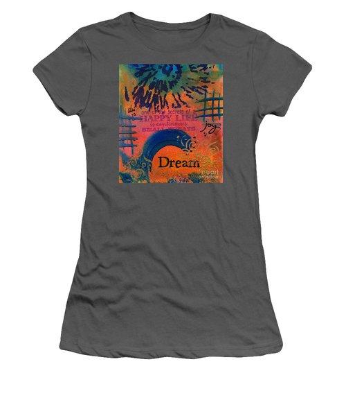 Dreams Of Joy Women's T-Shirt (Athletic Fit)